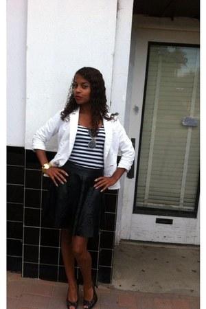 black Chanel heels