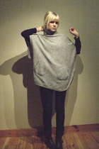 Cubus coat - Bik Bok t-shirt - Cheap Monday jeans - by me shoes