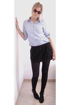 H&M shirt - Zara skirt - Nine West shoes
