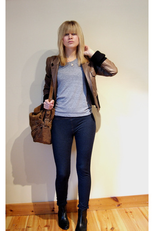 ann demeulemeester jacket - aa t-shirt - Bik Bok pants - Din Sko shoes - Vear Pe