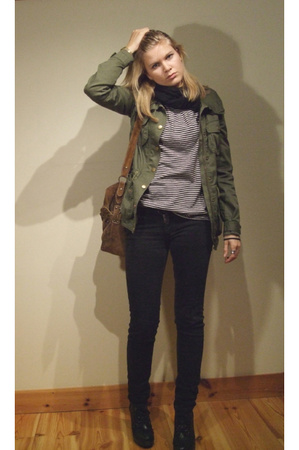 Cheap Monday jeans - Zara t-shirt - H&M jacket - DinSko shoes