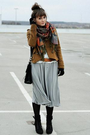 Zara jacket - romwe skirt