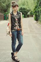 H&M vest - H&M jeans