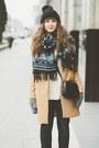 Camel-romwe-coat
