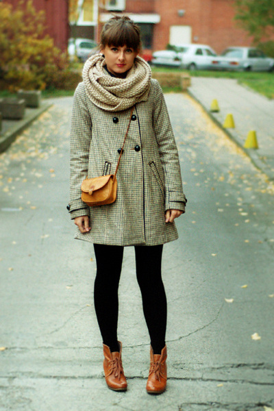 beige H&M coat