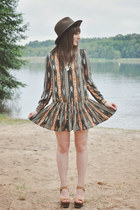 dark khaki Choies dress