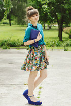 sholove sandals - Chicwish dress