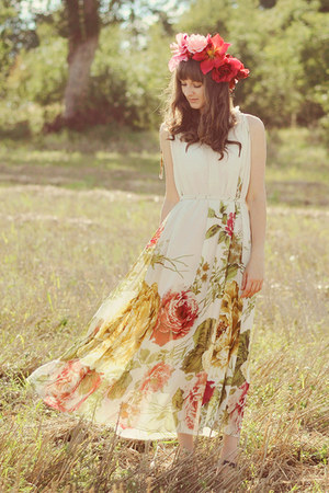 light yellow romwe dress