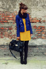 Black-blanco-bag-blue-h-m-blazer