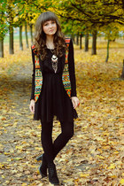 black romwe blazer