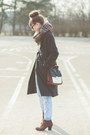 Gray-choies-coat-blue-newlook-jeans
