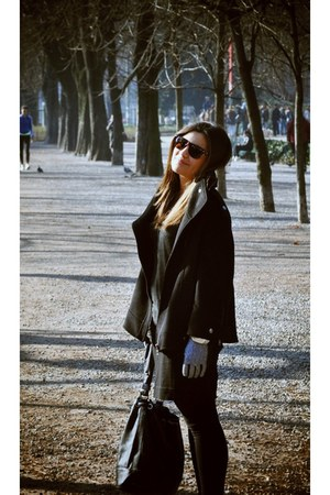 Massimo Dutti jacket - Zara bag - H&M skirt