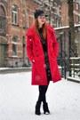 Black-topshop-boots-red-l-l-coat-black-pompom-asos-hat-black-h-m-sweater