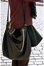 H-m-sweater-h-m-scarf-michael-kors-bag