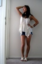 Zara top - Ksubi shorts - shoes - accessories