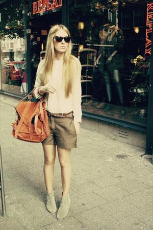 tawny ps1 PROENZA SCHOULER bag - camel dicker Isabel Marant boots