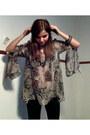 Black-forever-21-jeans-eggshell-snake-print-akira-shirt