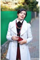 venezia boots - white new look coat