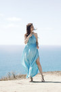 Aquamarine-shein-dress