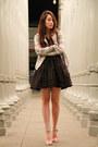 White-cotton-on-blazer-black-betsey-johnson-skirt-black-marc-jacobs-blouse