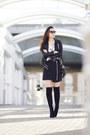 Black-ivanka-trump-boots-black-zipper-mini-cameo-skirt