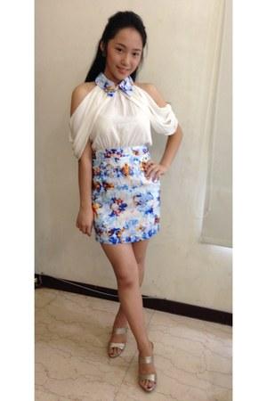REENA dress - Accento Squisito heels