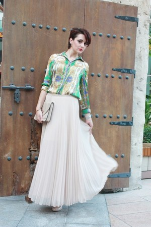 Zara skirt - Zara blouse