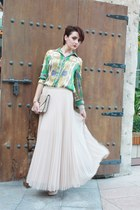 Zara skirt - Zara blouse