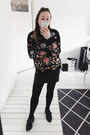 Black-embroidered-zaful-jumper