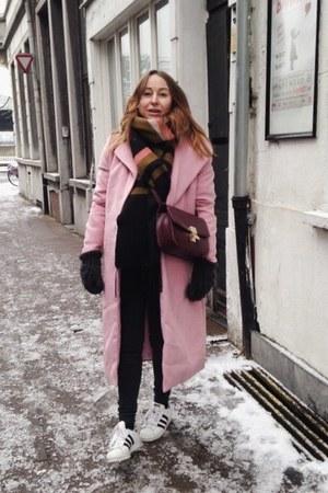 pink wool sammydress coat