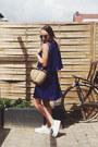 Deep-purple-pleated-spartoo-dress-camel-basket-etsy-bag