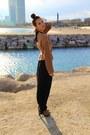 Zara-jumper-asos-dress-steve-madden-boots-vintage-belt