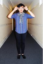 shirt - Urban Renewal scarf - Cheap Monday pants - shoes