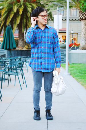 shirt - Cheap Monday jeans - Fobs Footwear shoes - YMC purse