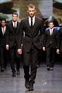 black Dolce & Gabbana suit