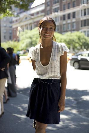 na blouse - na skirt