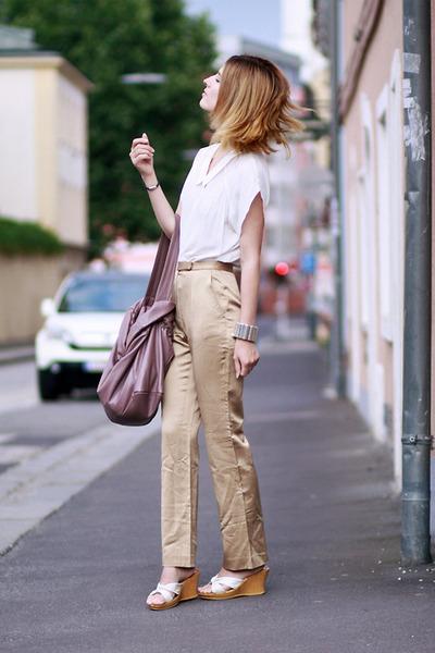 chiffon Zara blouse