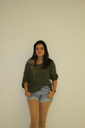 New Yorker jumper - Mango boots - Levis jeans - Zara t-shirt