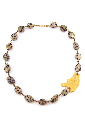 Manic Trout necklace