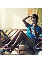 Zara Kids shirt - Banana Rep shorts - Paul Smith shoes - from friend accessories