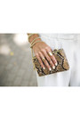 Beige-metallic-gold-incity-blazer-light-brown-snake-print-mango-bag
