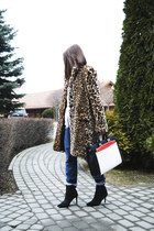 Zara coat - Zara boots - Zara bag