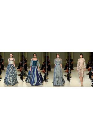 teal Luisa Beccaria dress