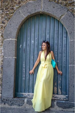 yellow romwe dress