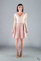 peach Melissa Ceccon dress