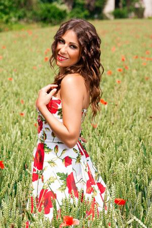 red Relooker dress