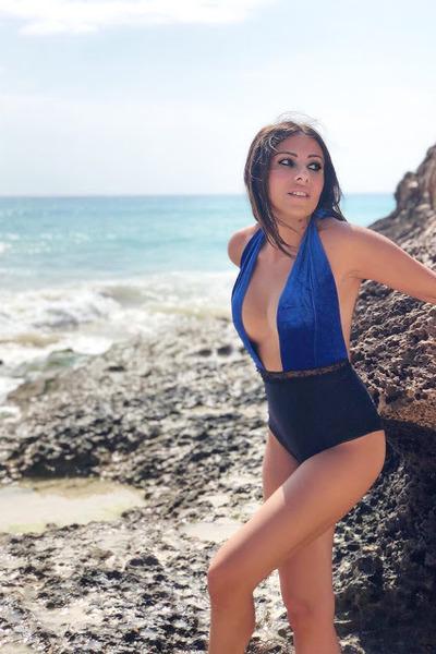 blue BePopsy swimwear