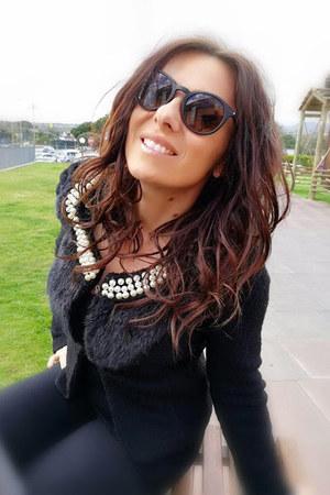 black Messy Weekend sunglasses