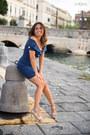 Silver-sergio-rossi-shoes-blue-flavio-castellani-dress
