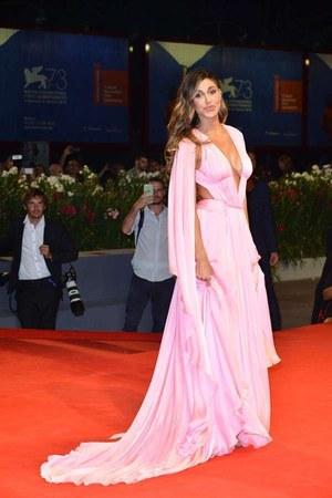 light pink Alberta Ferretti dress
